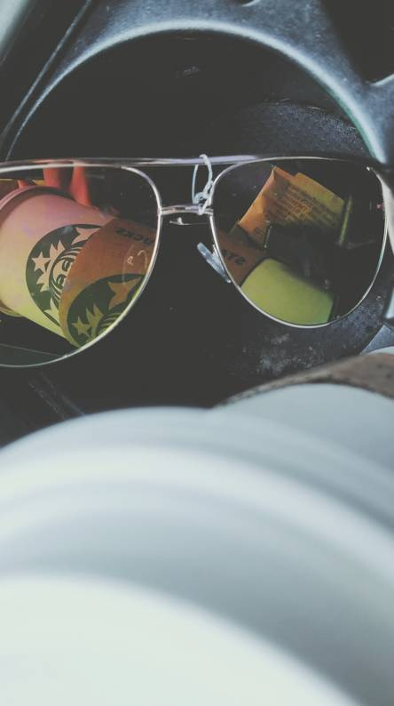 Starbucks morning