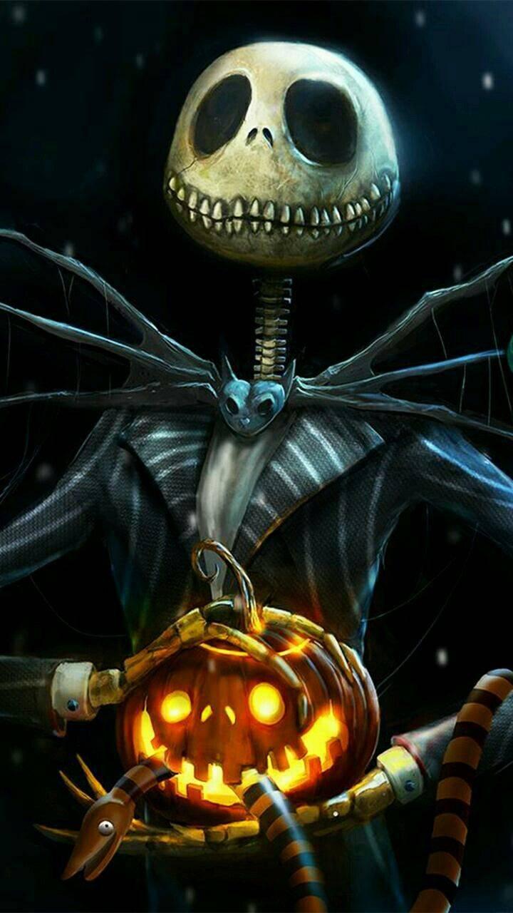 Jack Skeleton Wallpaper by SayaDiva - 89 - Free on ZEDGE™