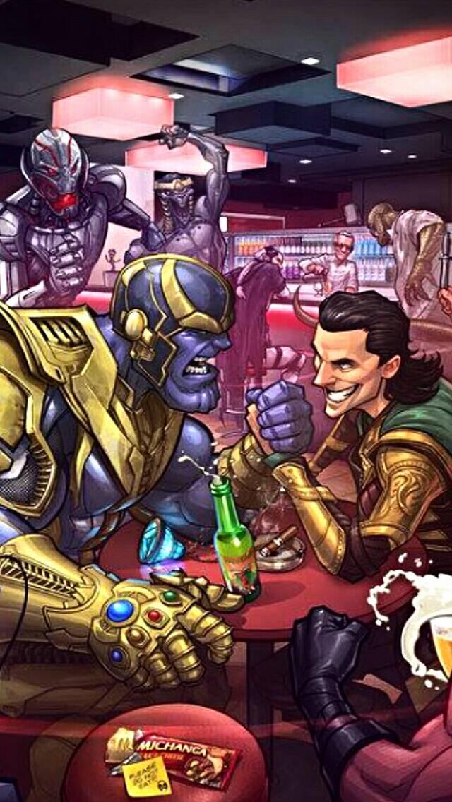 Dc comic vs Marvel
