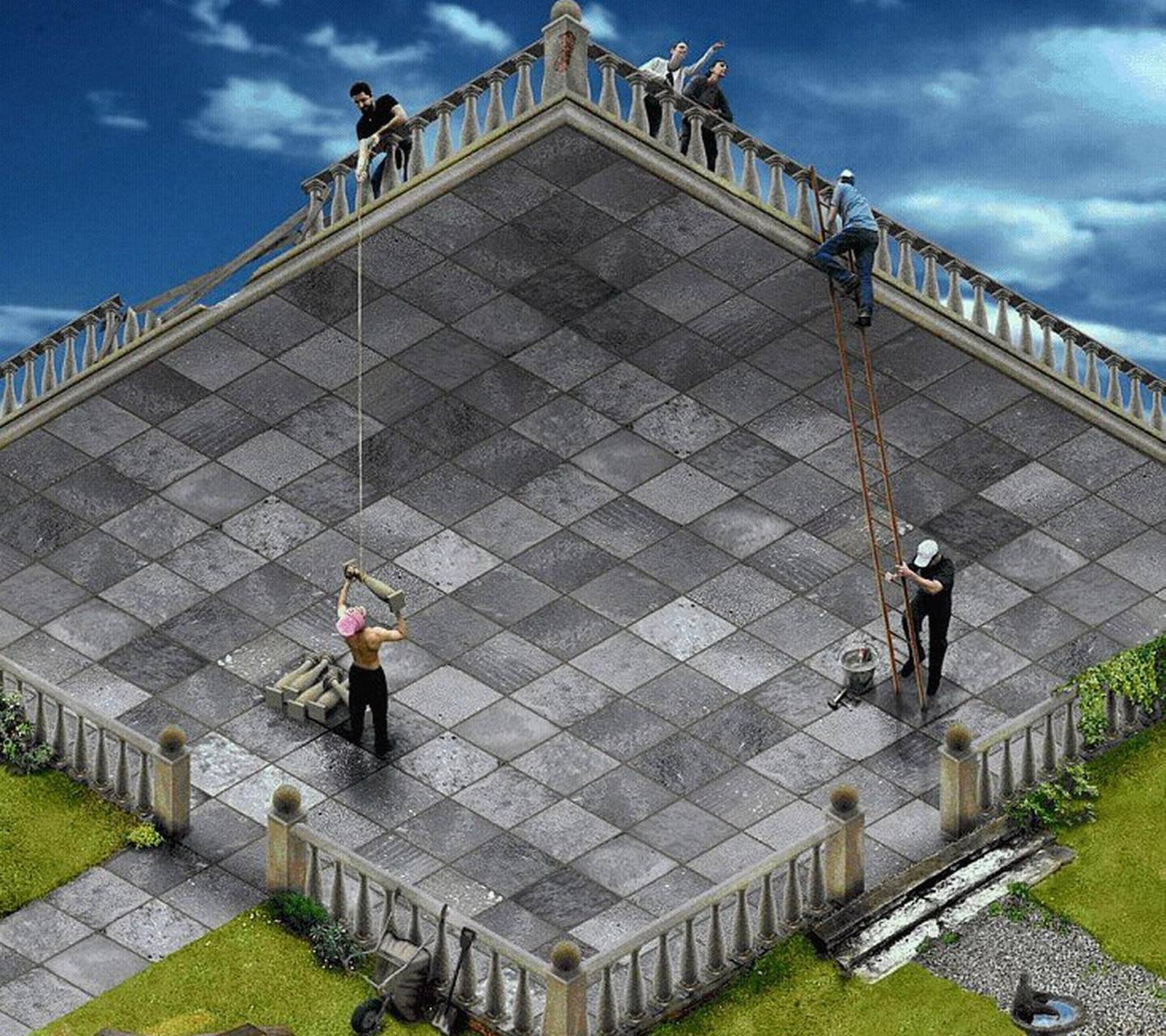 Optical Illusion Wallpaper by Mr__Wanted - 38