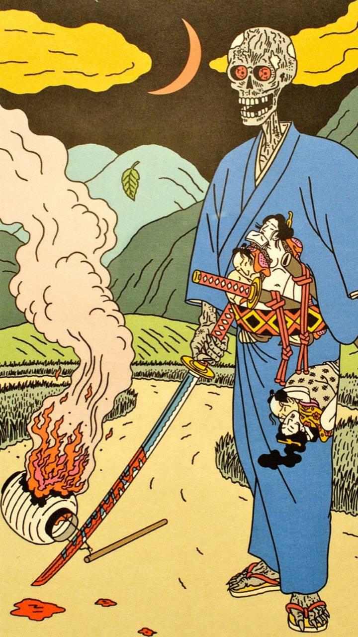Samurai Skelton