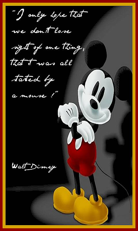 M Mouse And W Disney