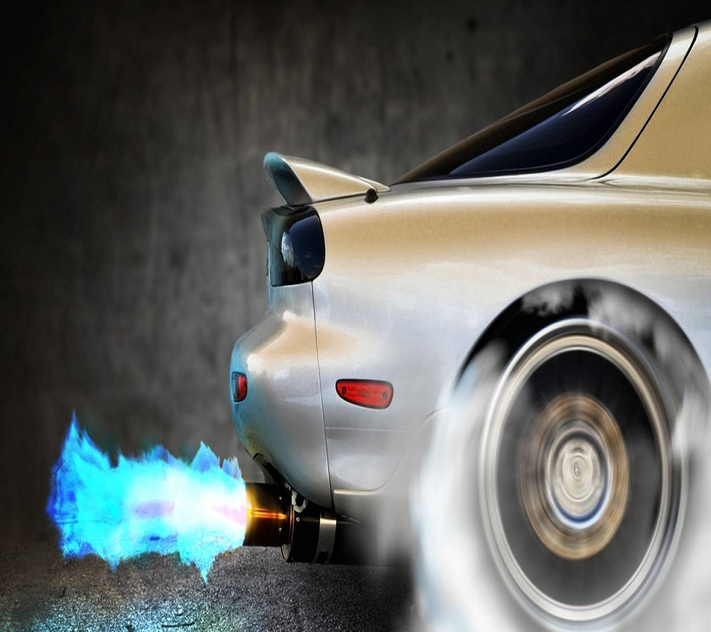 Burnout Flame