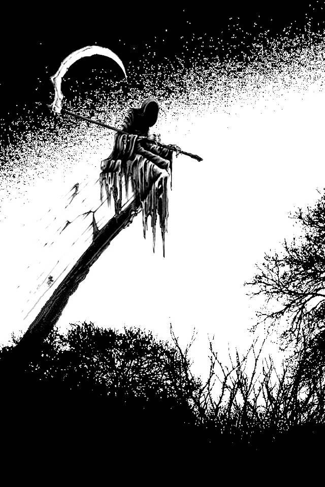 Grim Reaper Waiting