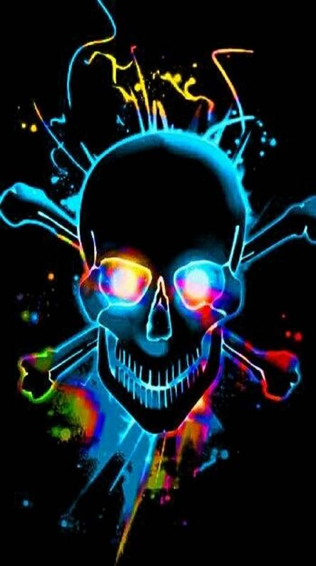 Neon skull Wallpapers - Free by ZEDGE™