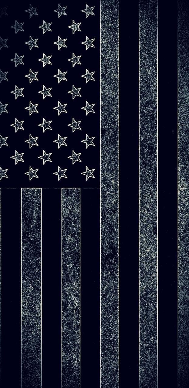 American Flag Dark Wallpaper By Ccu127 8e Free On Zedge