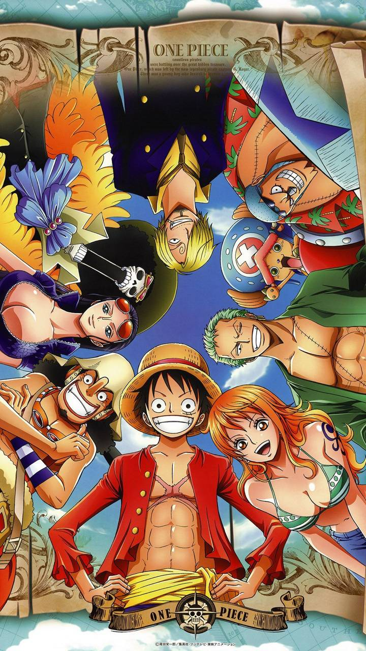 Straw Hats Wallpaper By Funny Mushroom Da Free On Zedge