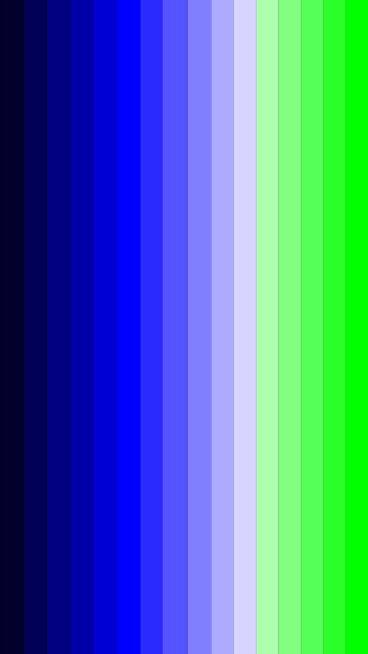 Scala Blu-verde