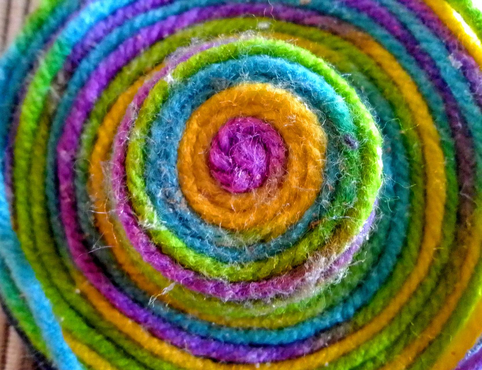 Spiral in colours