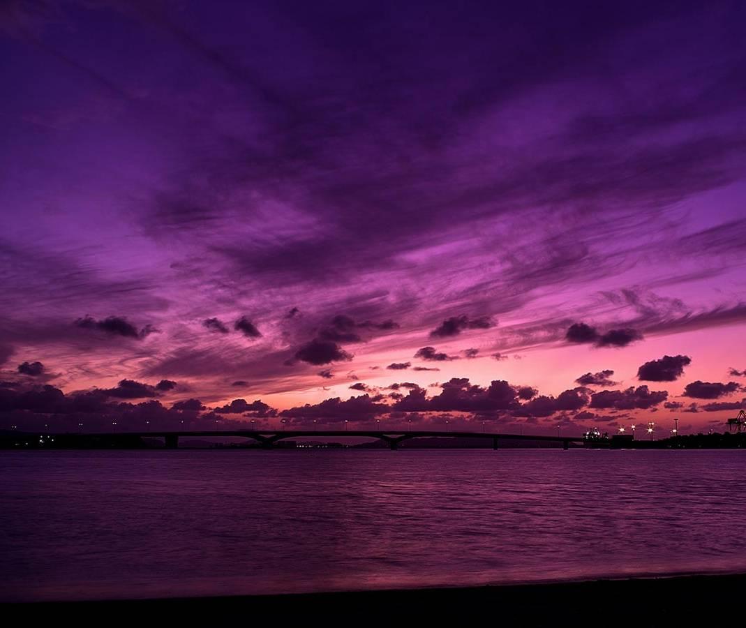 Purple Clouds Hd