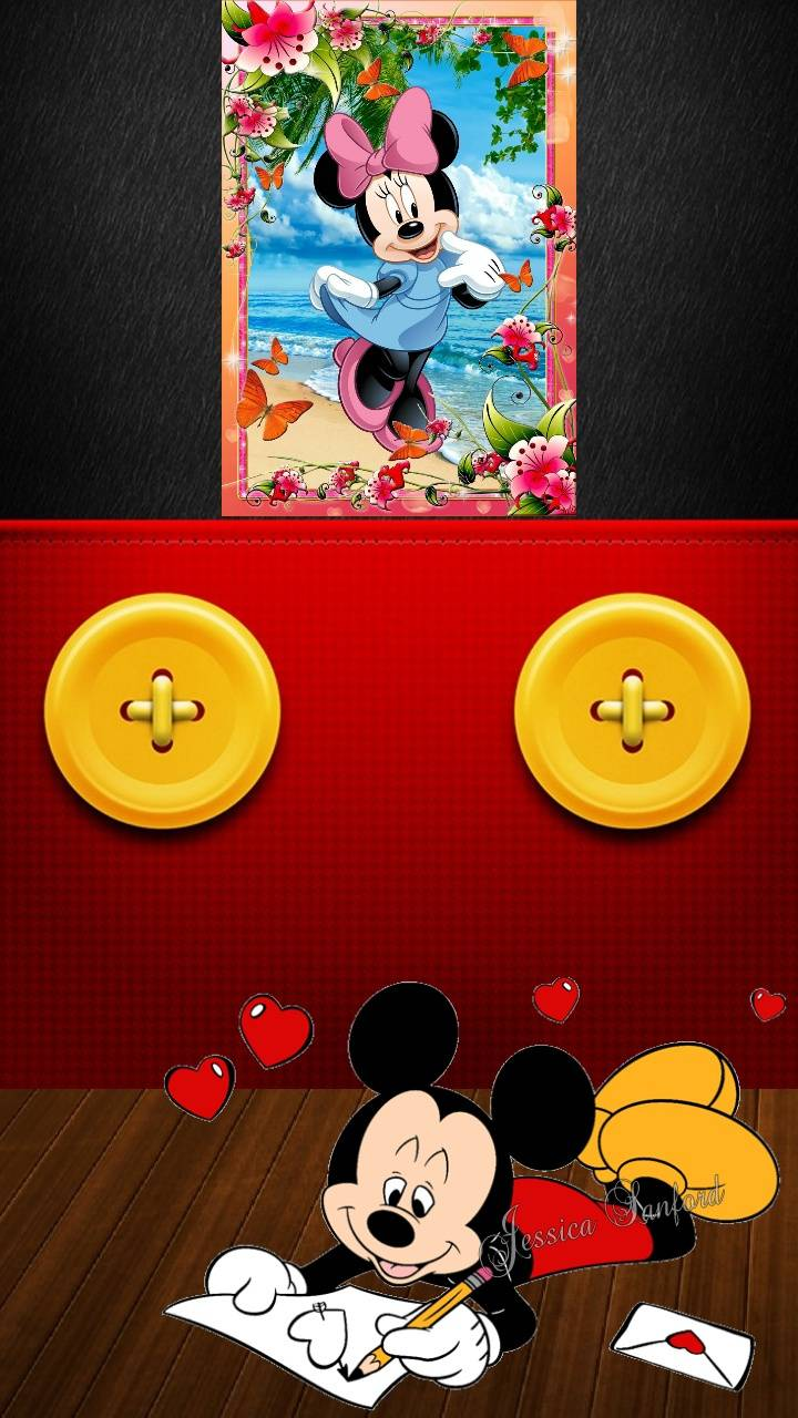 Mickey Love Letter