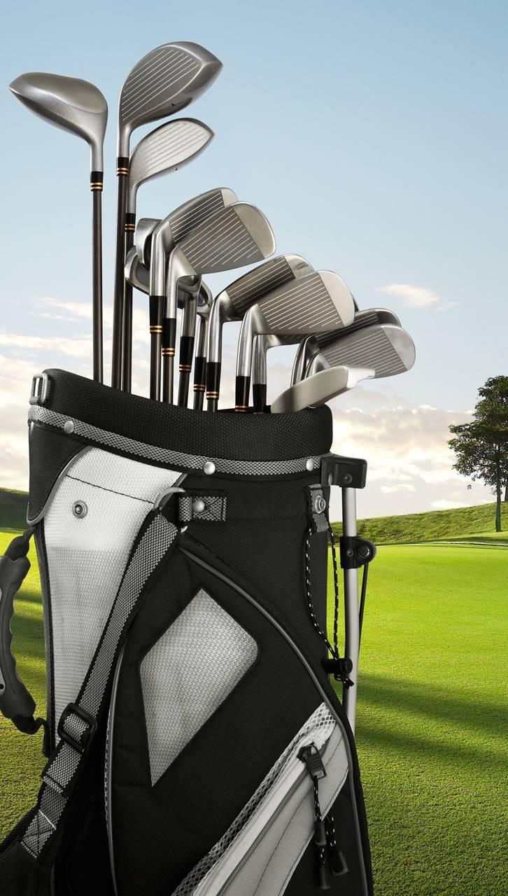картинки клюшек для гольфа многозадачном телефоне закрывайте