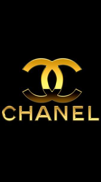 Chanel gold logo