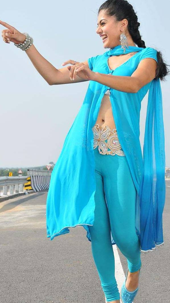 Tapsee Hot Navel