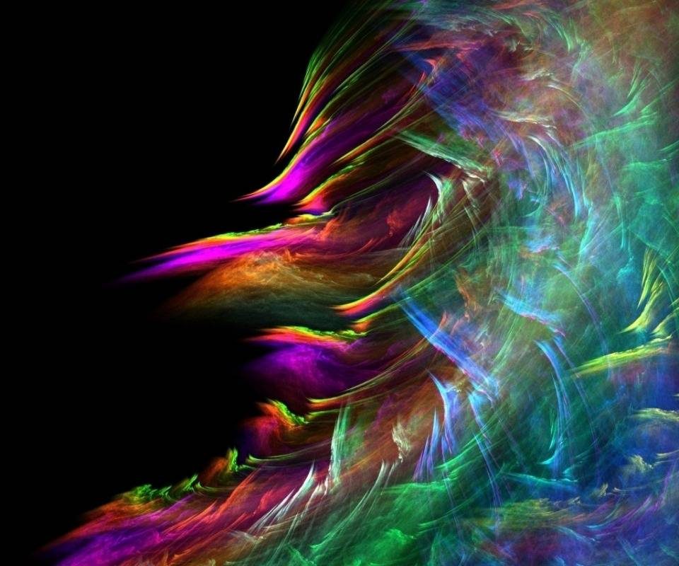 3d Colorful Wave Hd
