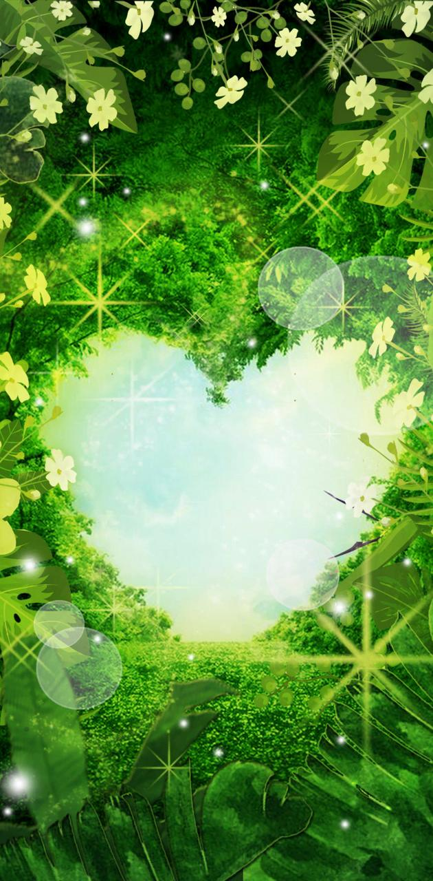 Heart forest