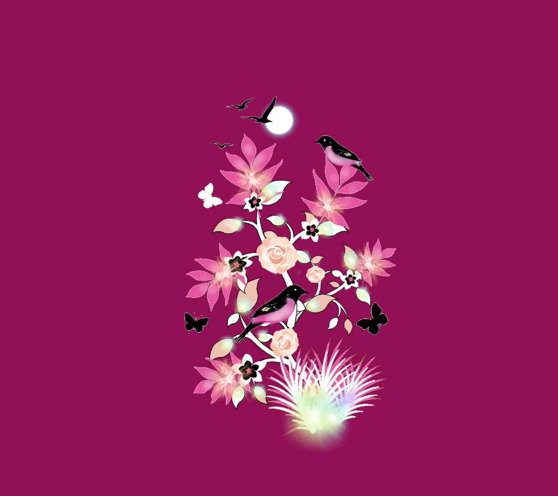 Bird flower 24