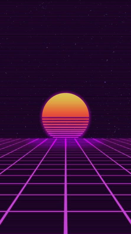 Retro Sunset