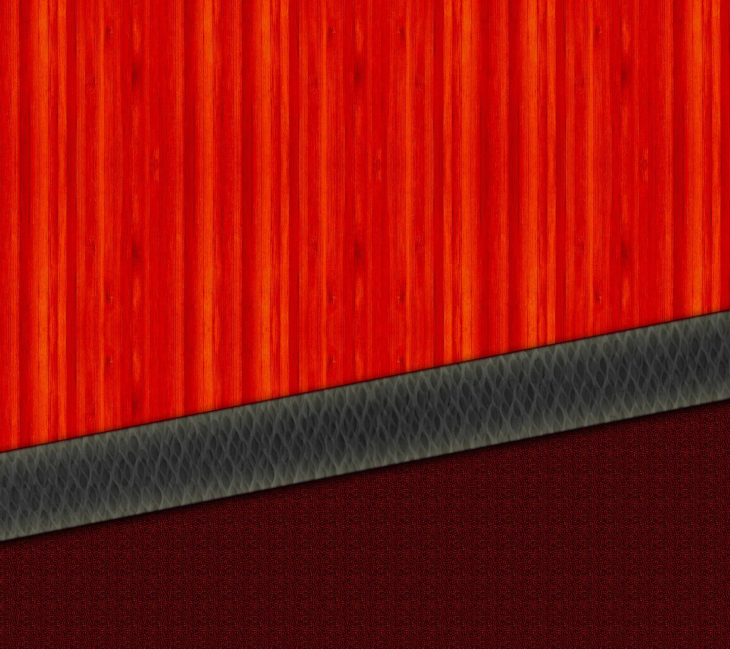 Red Wooden Panel