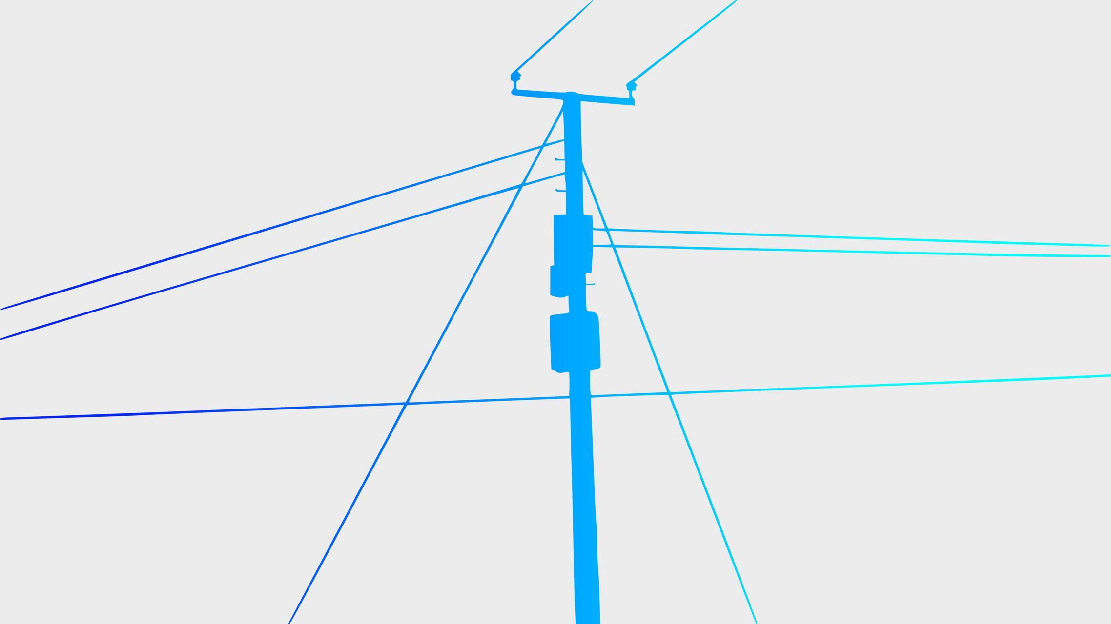 PowerLine Blue light