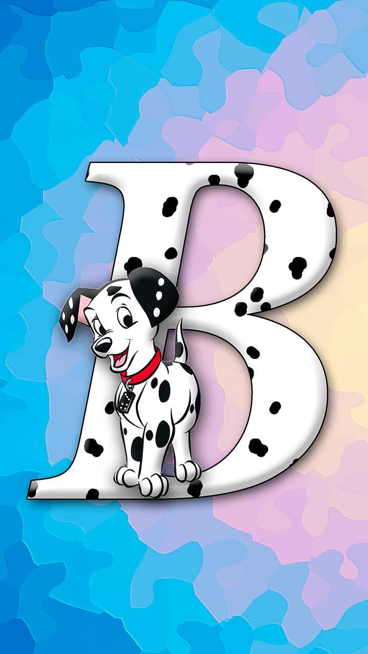 letter B dog