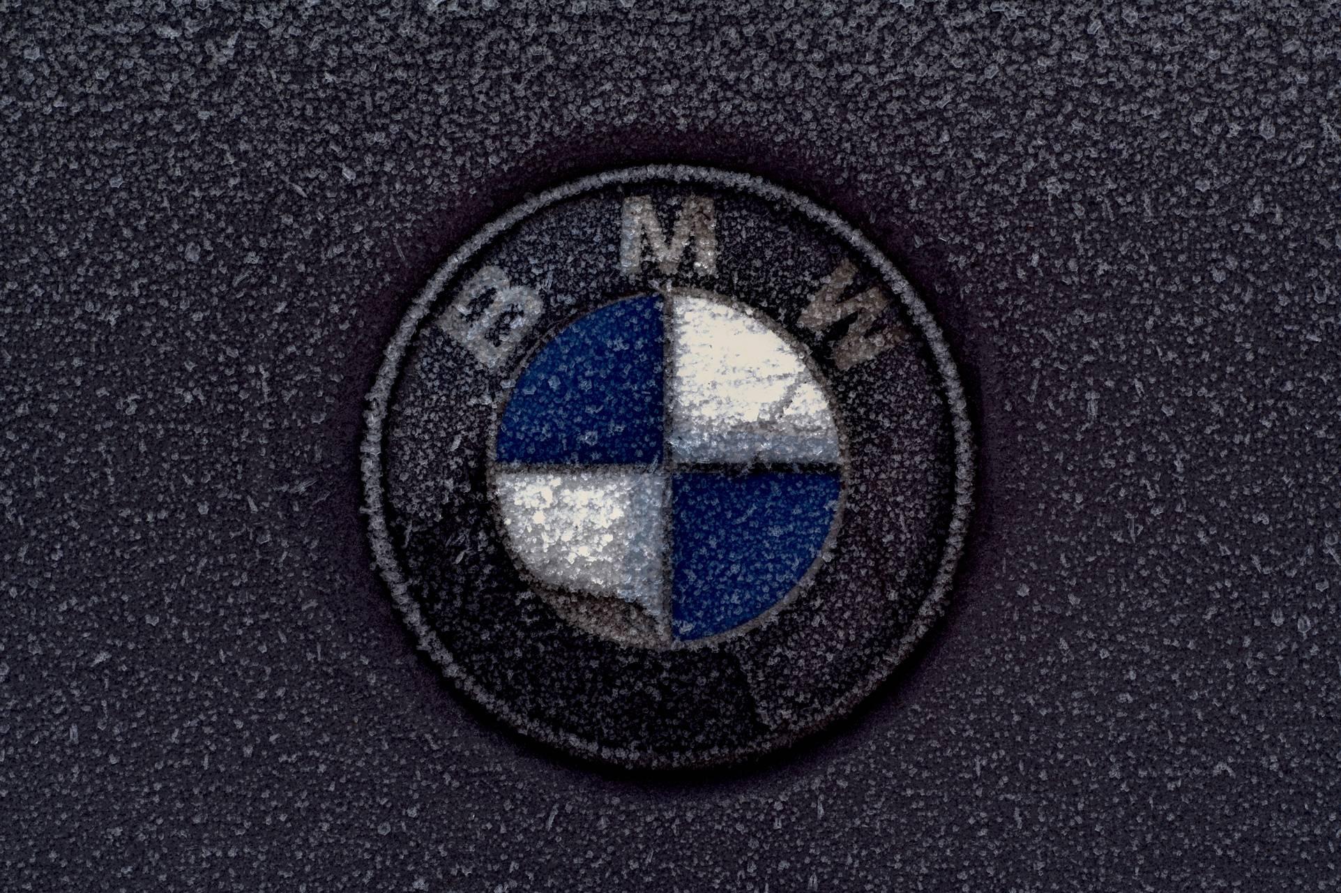 Frozen BMW Logo
