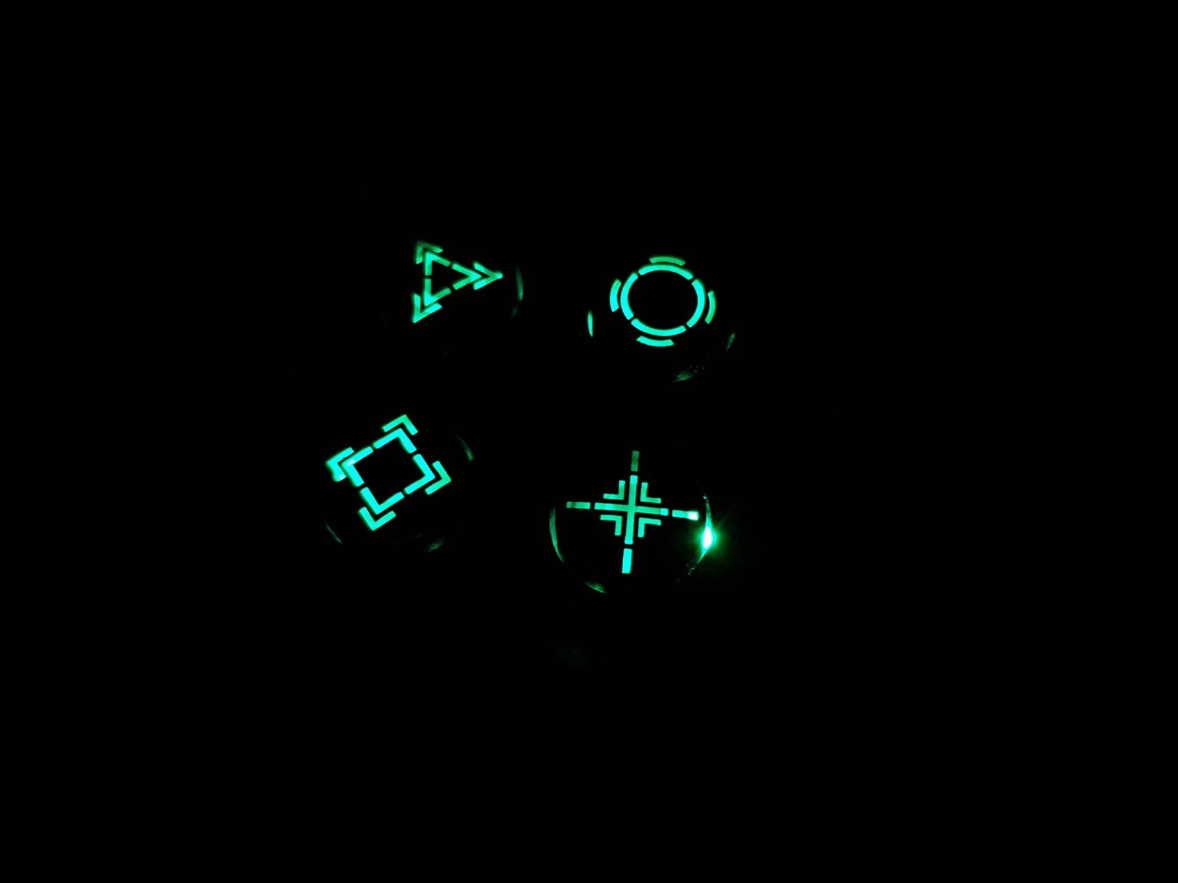 PS4 Glow Buttons