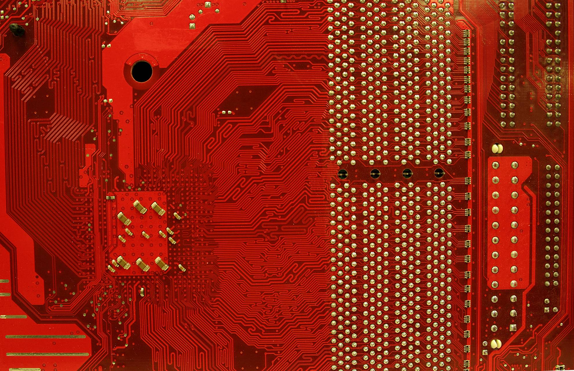 Red Motherboard