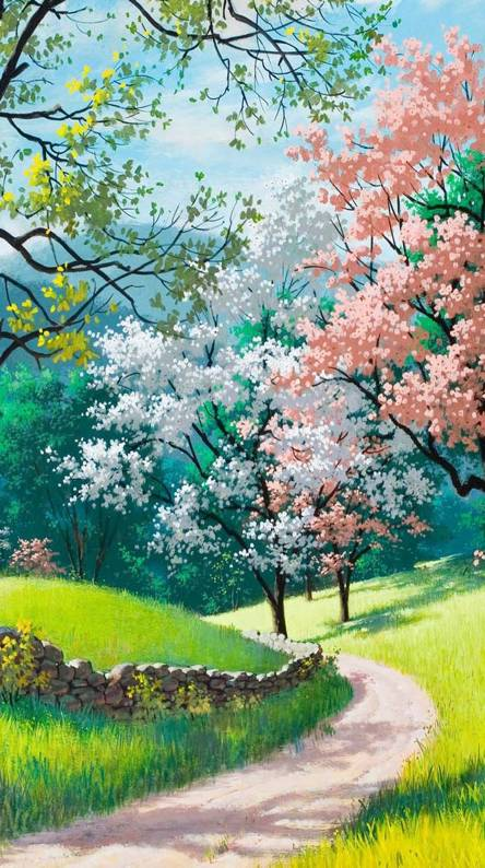 Painting Spring