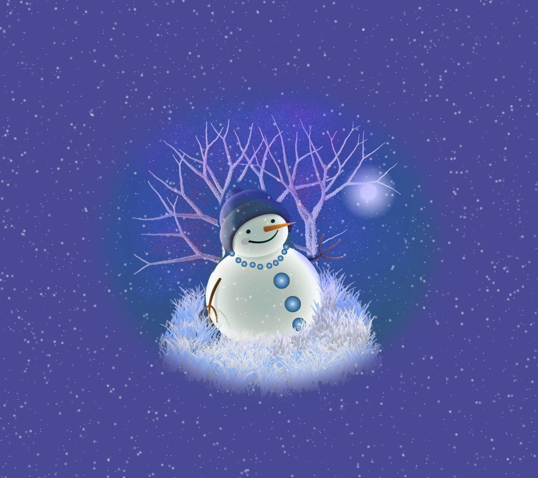 Snowman Snow