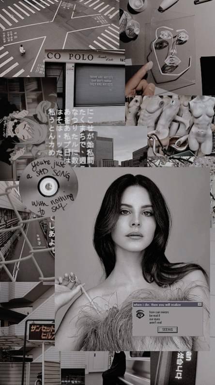 Lana Del Ray Collage