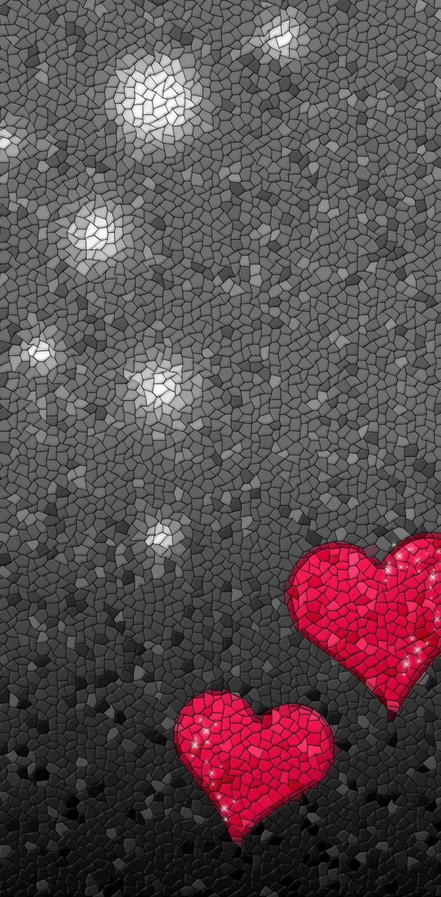 mozaika - serce
