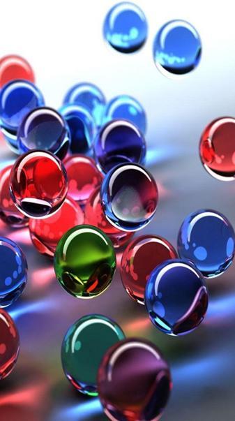 3d Crystal Balls