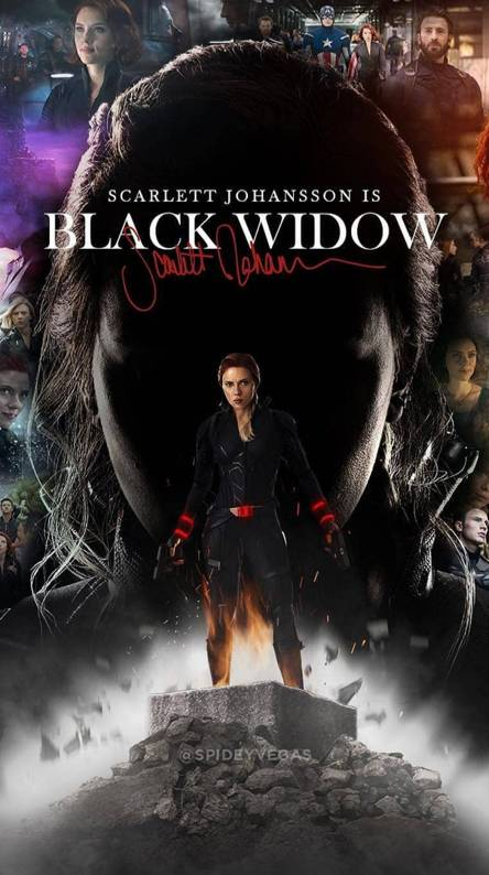 Black Widow Wallpapers Free By Zedge