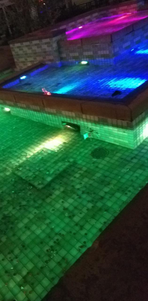 Mall fountain