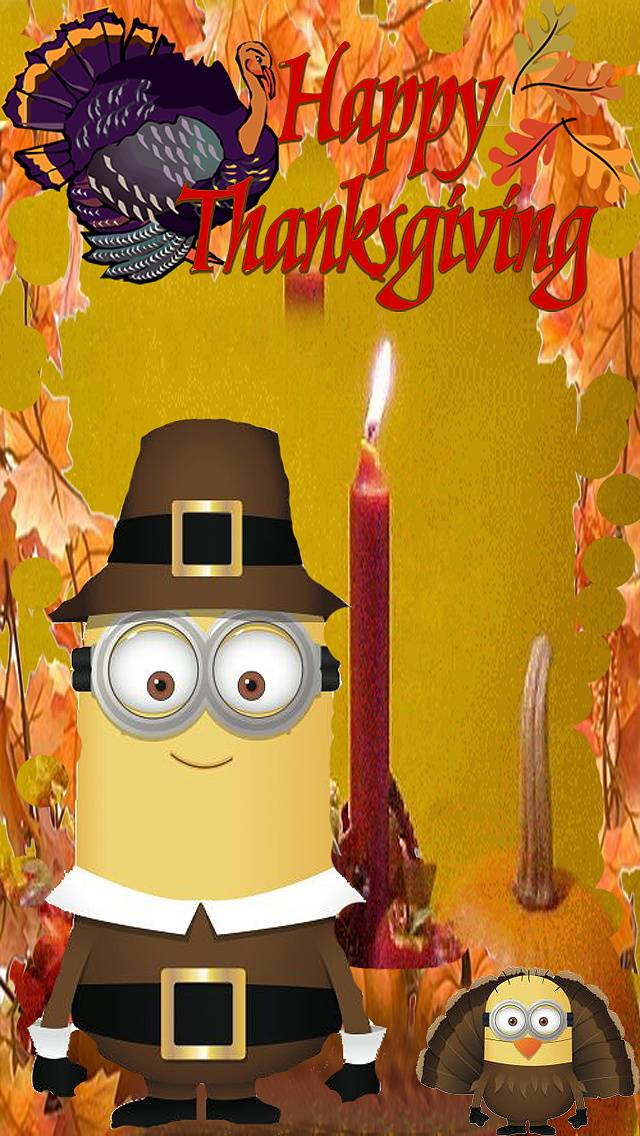 Thanksgiving Minions Wallpaper By Blacklightning388 91 Free On Zedge