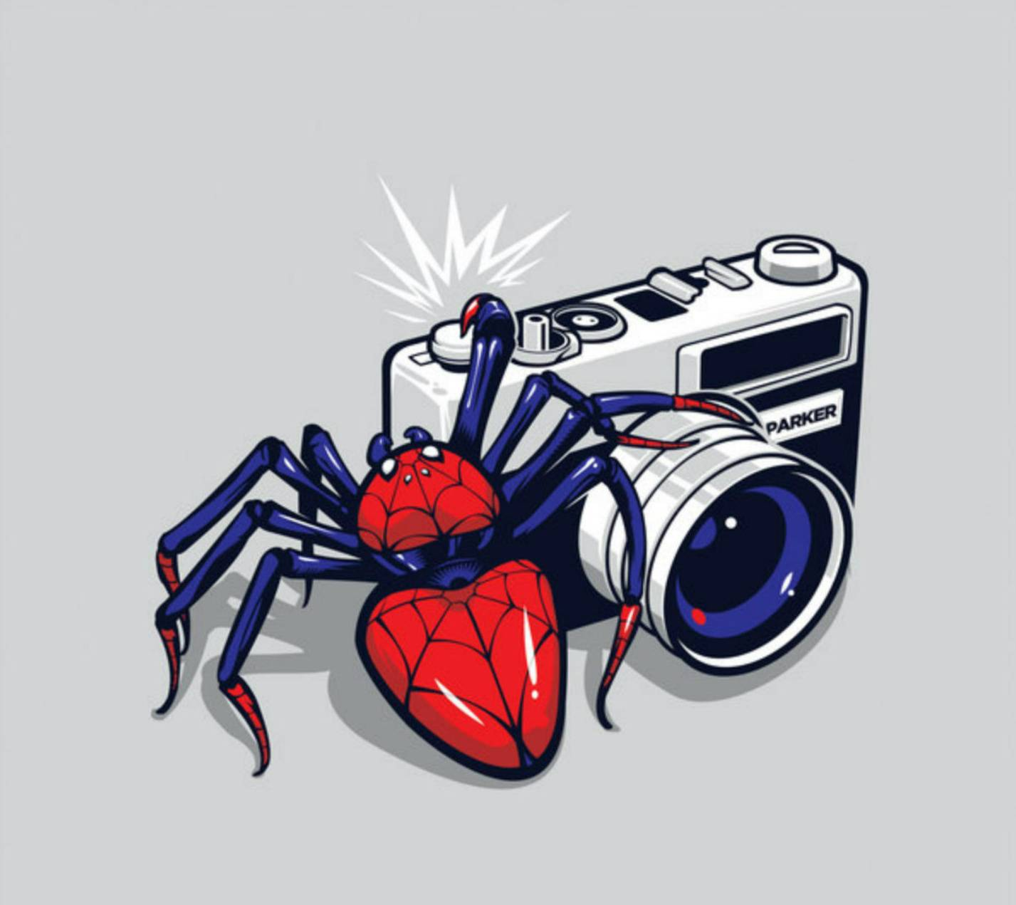 Spider shot