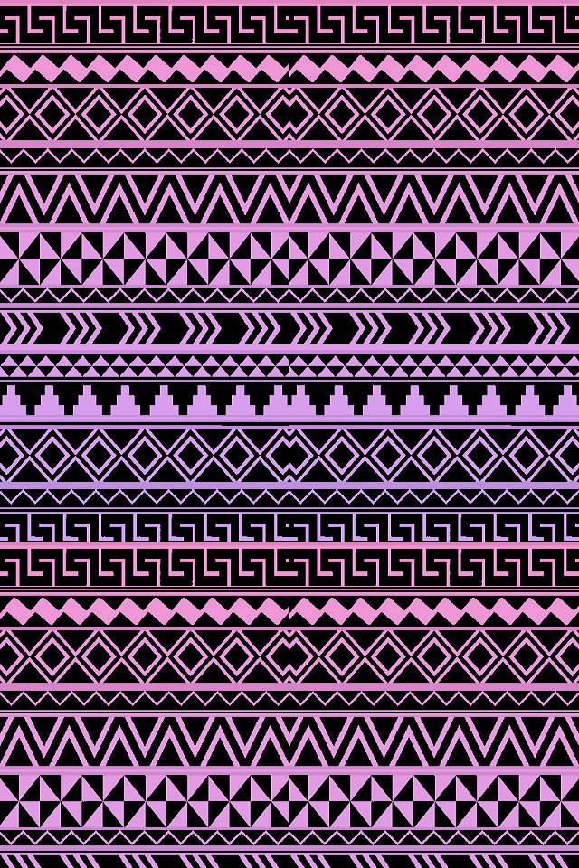 Purple Tribal