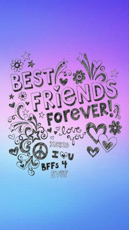 Friends Forever Wallpapers Free By Zedge