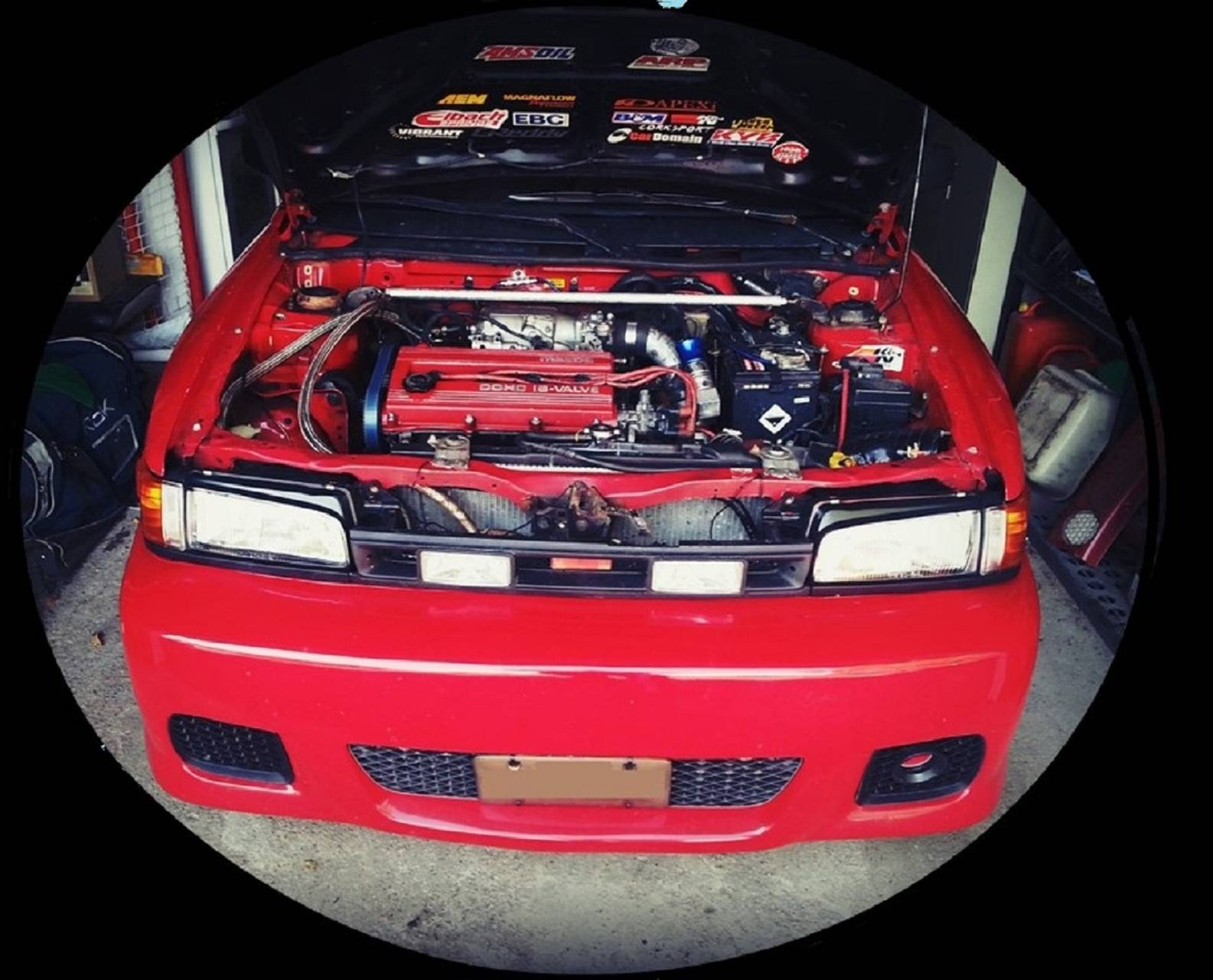 Mazda 323 show
