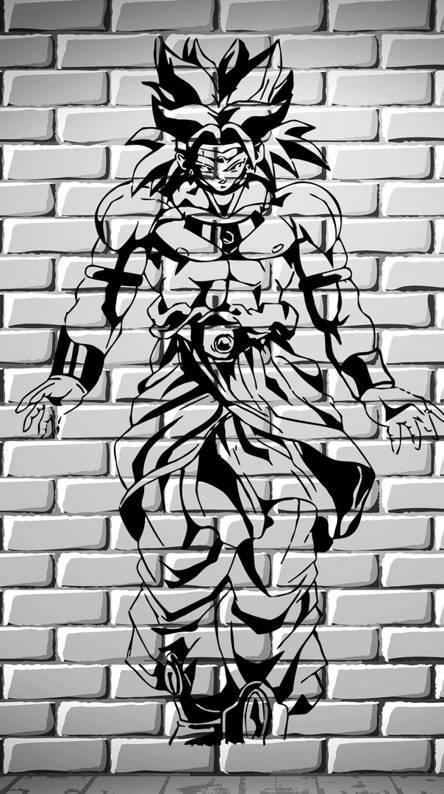 Broly Wall
