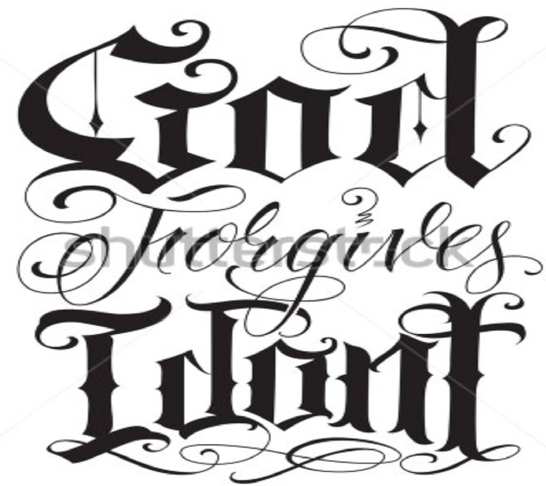 God Forgives I Dont