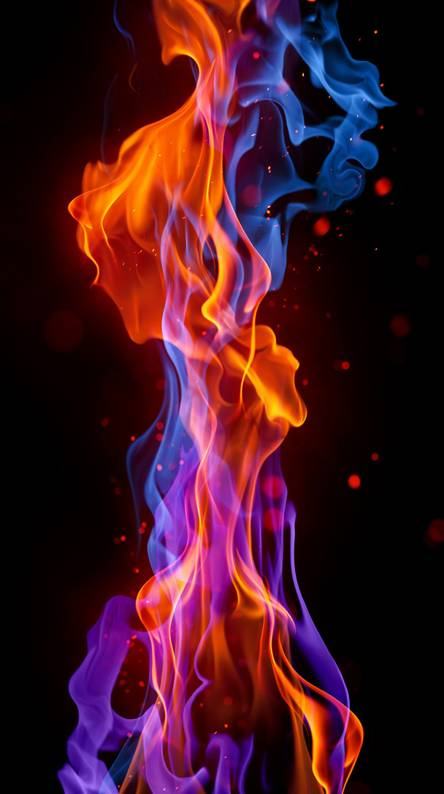 Colorful Flame