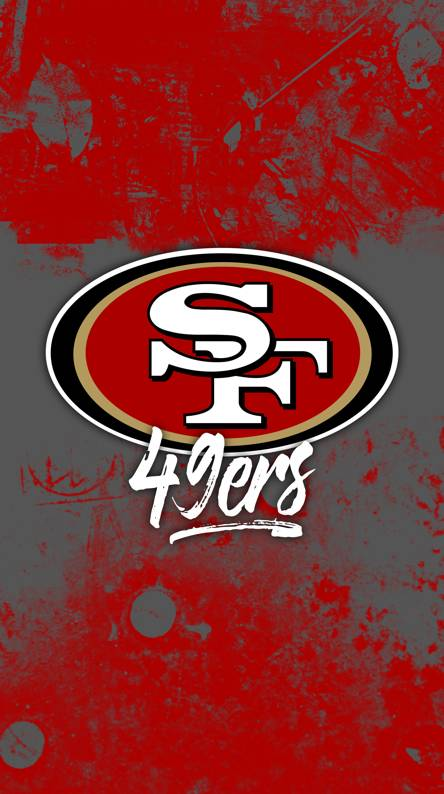 49ers wallpapers free by zedge 49ers grunge wall voltagebd Choice Image