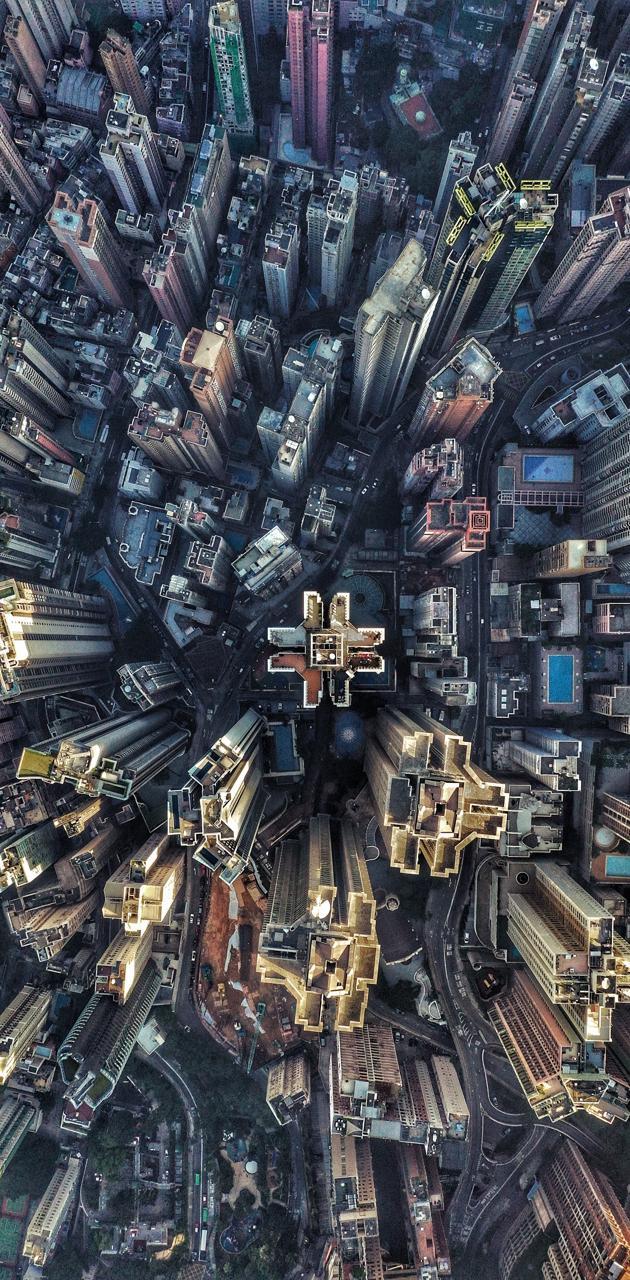 Future city image