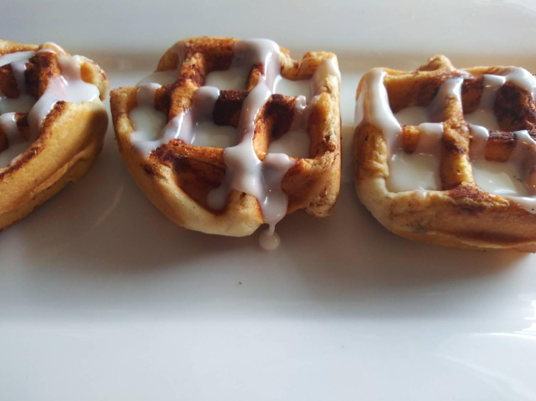 Gooey waffle
