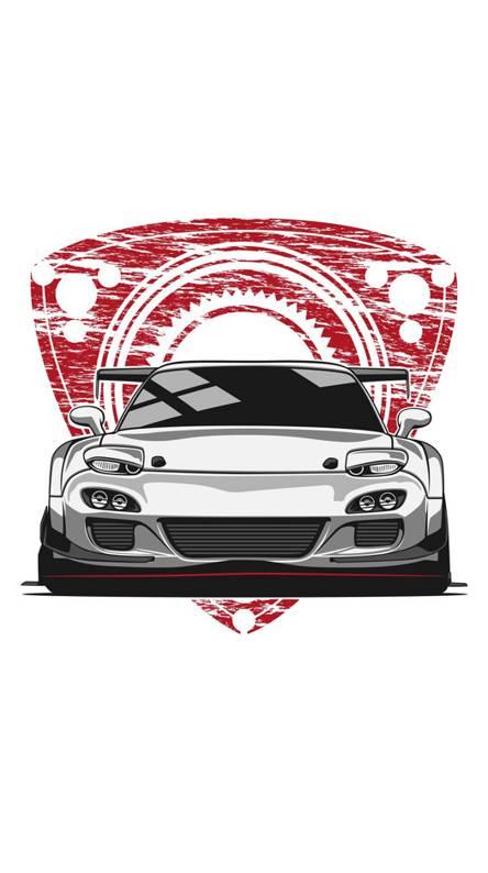 Mazda Drawing