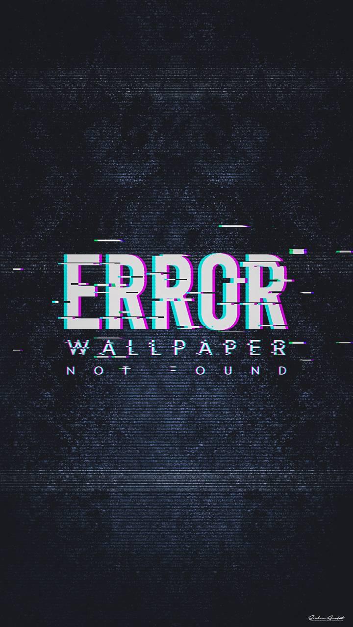 Wallpaper Error