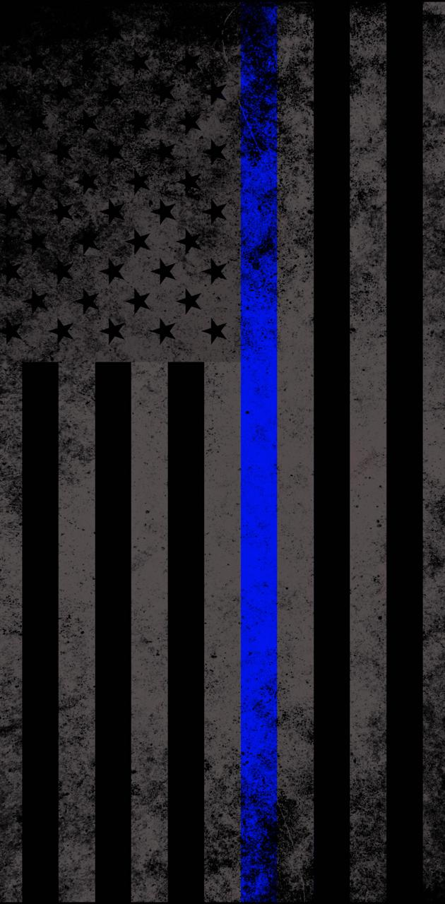Police Support Flag