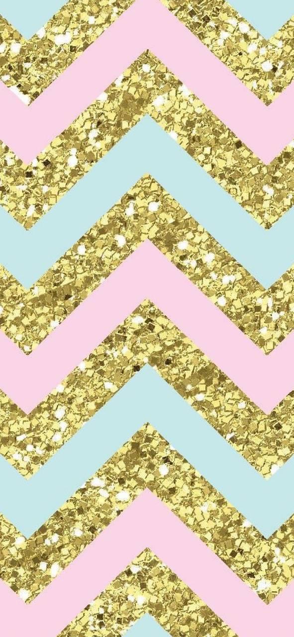 Chevron Glitter